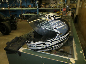 ZOX Full Face Helmet, size XL