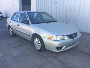 2002 Toyota Corolla CE SAFETIED MANUAL