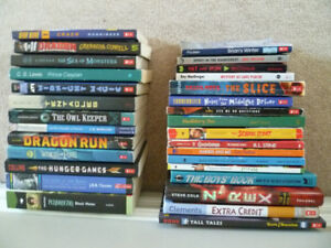 Variety of Teen Books in good used condition