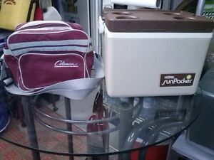 COOLERS, PICNIC SETS, CANTEEN, SOME NEW.