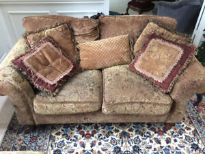 Sofa, Loveseat and Chair Set. Excellent Condition!