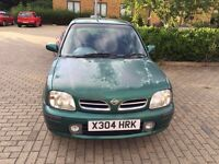 Nissan Micra 2001 1 year MOT drives very well