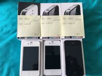 iPhone 4s 8GB, EE, virgin, warranty and receipt.