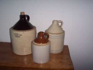 Variety of Crocks and Jugs