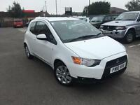 2010 Mitsubishi Colt CLEAR TEC CZ2 Petrol white Manual