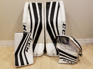 Hockey goalie pads set CCM Premier Pro 33+2 like 34+2 goalie