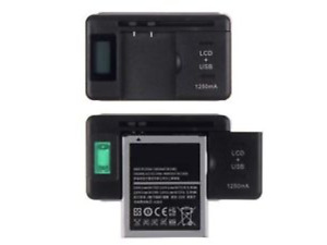 """UNIVERSAL BATTERY CHARGER WITH USB OUTPOUT.. """"NEW"""""""