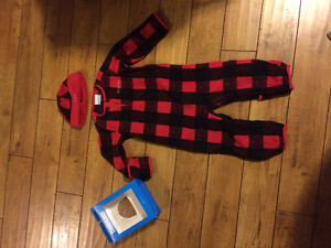 Columbia size 18-24 fleece and hat BRAND NEW
