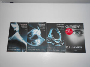 Trilogie de Cinquante nuances de Grey - Fifty shades of Grey