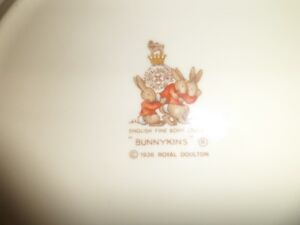 Vintage Royal Daulton Bunnykins Plate Kawartha Lakes Peterborough Area image 2