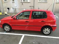 Hi there I have very nice lovely polo VW for sale