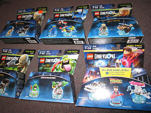 LEGO Dimensions Fun Packs ($10.00), etc. - on Choice