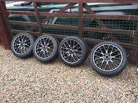 Mini 4x100 JCW challenge wheels genuine