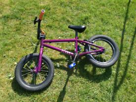 Kids Blank Digit Bmx Bike 14 Inch Wheels