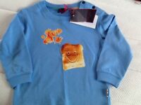 Paul Smith junior brand new long sleeve top size 1a 2 years
