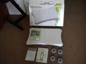 Wii Balance Board and Wii Fit Plus Game