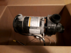FREE! 3/4 HP pump from a jacuzzi tub we ripped out.