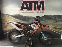 KTM EXCF250 2010 ENDURO BIKE, ROAD REG, RECENT TOP END (ATMOTOCROSS)