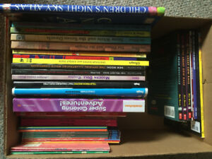 Box of Picture Books Disney & Graphic Novels