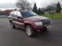 2002 Jeep Grand Cherokee 2.7 CRD Limited Station Wagon 4x4 5dr