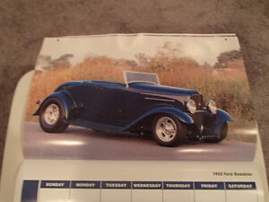 2000 DREAM MACHINES Car 16 Month CALENDAR. Issued by HUCK Fasten Sarnia Sarnia Area image 7
