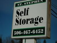 SELF STORAGE IN STANDREWS AND ST STEPHEN