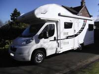 ELDDIS AUTOQUEST 180, 6 BERTH, 6 SEAT BELTS, U LOUNGE, EXCELLENT CONDITION