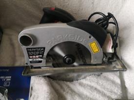Parkside phks 1450 laser circular saw