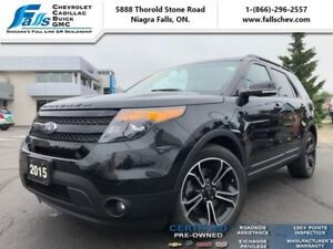 2015 Ford Explorer Sport  NAV,AWD,HEATED  COOLED SEATS,PANO ROOF