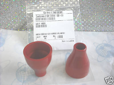 Bargun Wunderbar Nozzle Red Push-on Style Series 2.0 Coke Part14222