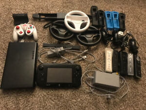 Nintendo Wii U w/ Tons of Accessories - All Cords - Great Cond!