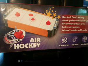 Table top air hockey table brand new sealed box