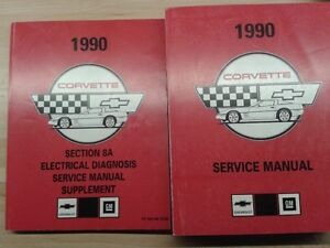 1990 Corvette Shop Manuals