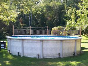 22' Round Pool & Heater