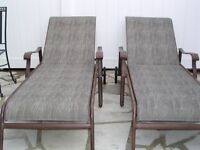 Lounge chairs $75.00 each