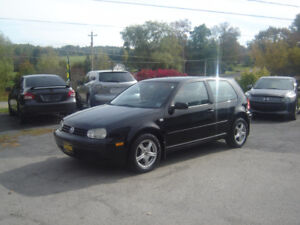 2001 VW GOLF 2 DOOR HATCHBACK