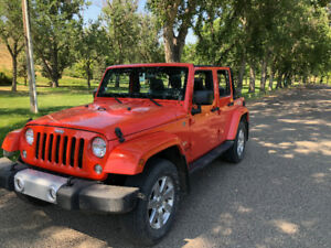 2015 JEEP Wrangler Sahara Unlimited 4X4 W/ Trail Rated Package