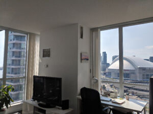 Furnished 1 bedroom & bathroom  DT Toronto $1400