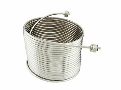 Ny Brew Supply Jockey Box Stainless Steel Coil - 516 X 50 Left Hand