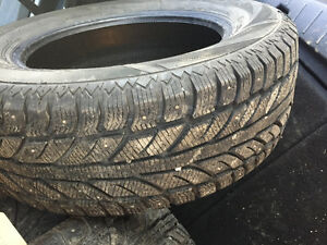 Winter tires used for one month