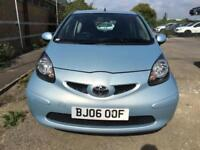 2006 Toyota Aygo Hatch 3Dr 1.0VVTi 67 + Petrol blue Manual