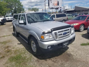 2011 FORD RANGER SPORT 4X4 WITH ONLY 43 000KM