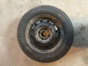 185/65R14-86T Winter Tires (Set of 4, Used 1 Season Only)