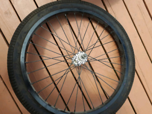 Set of dual rimmed BMX rims