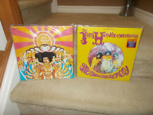 "VINYL RECORDS JIMI HENDRIX "" SEALED"" lp's"