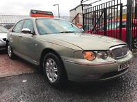 *ONLY 63,000 MILES FSH 2 KEYS*ROVER 75 1.8 12 MTHS MOT(NO ADVISORYS)*