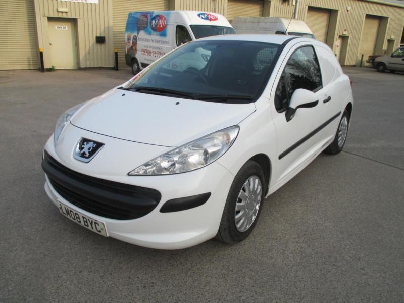 2008 Peugeot 207 1.4HDi 70 euro 4 1 owner diesel pas cd stereo a/c e/w 68bhp