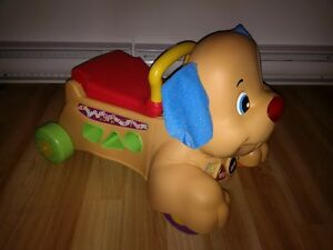 Fisher-Price - Laugh & Learn - Stride-to-Ride Puppy - English