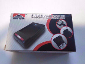 UNIVERSAL Camera Battery Charger >> International Voltage