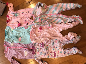 Lot de 6 pyjamas pekkle 12-24 mois